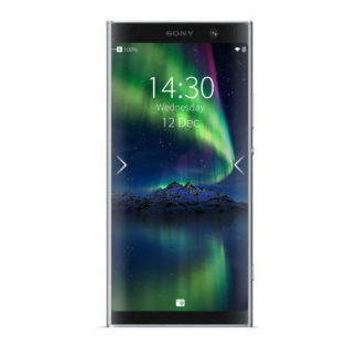 Xperia XA2 Plus silver with Sailfish OS