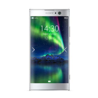Xperia XA2 Silver with Sailfish OS